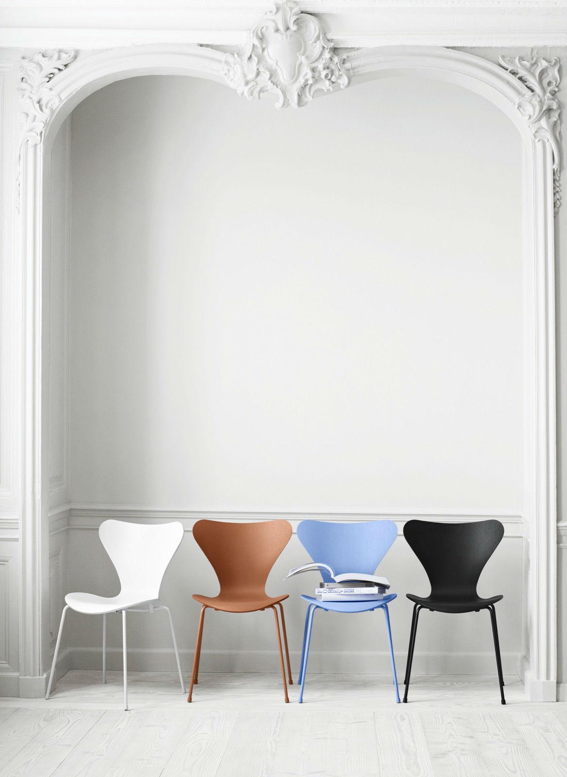 fritz hansen vlinderstoel 3107 matser wageningen. Black Bedroom Furniture Sets. Home Design Ideas