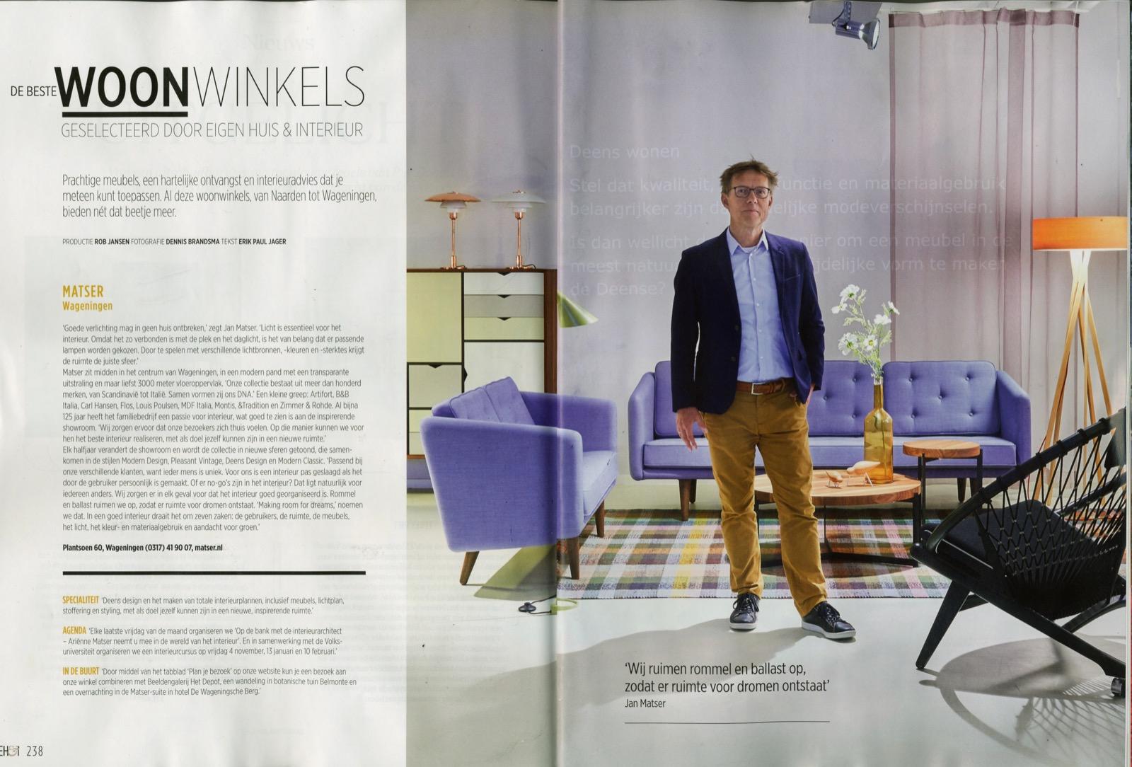 Matser | De beste Woonwinkels, geselecteerd door Eigenhuis & Interieur