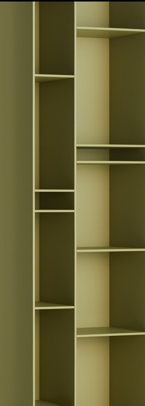 MDF Italia Random 3C boekenkast | Matser Wageningen