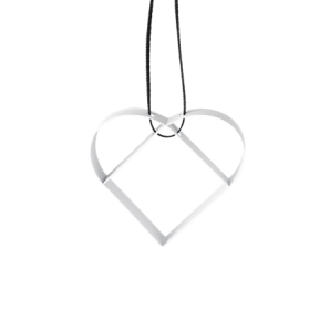 Figura Heart Ornament S
