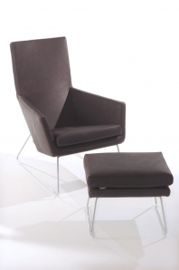 Don Fauteuil + Hocker