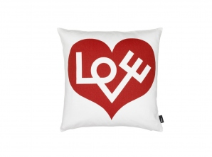 Graphic Print Pillow – Love