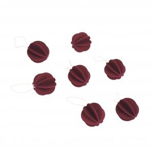 Baubles 3,5 cm – 7 stuks